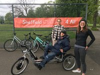 Sheffield Cycling 4 All Gets New Bikes Boost