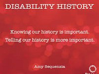 Looking Back At The Teaching Of Disability History